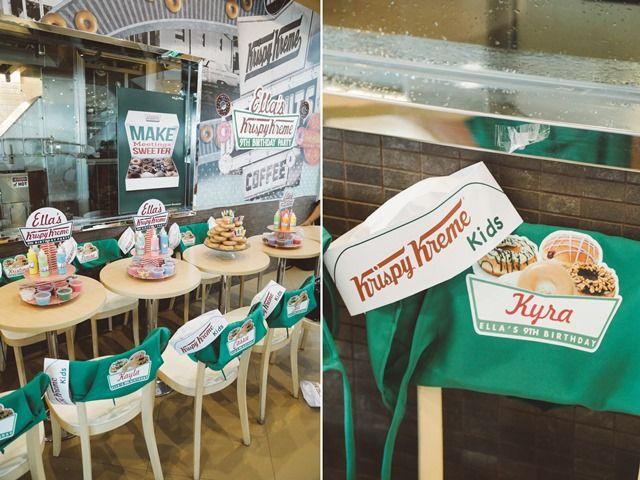 Ella's Krispy Kreme Party – Party Details