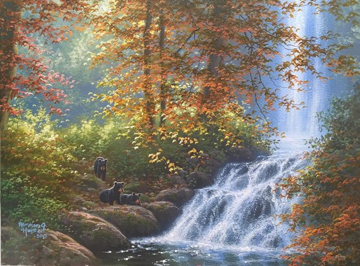 (34) Abraham Hunter Art