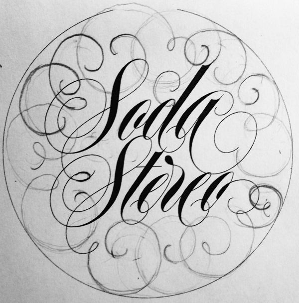 Soda Stereo on Behance