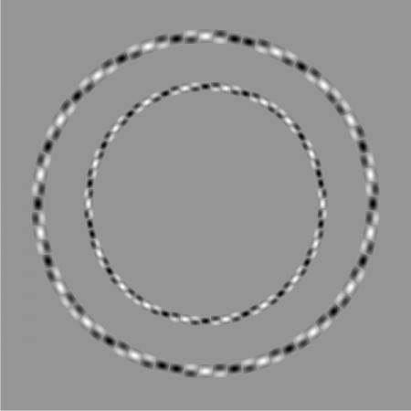 2 ровных круга