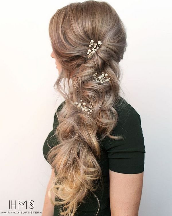 50 Incredible Long Wedding Hairstyles from Hair & Makeup by Steph