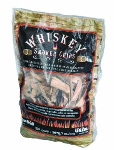Smoker chips for the grill made from old whiskey barrels.  Used these to make corned beef brisket - amazing aroma and flavor.  Using on bacon next!