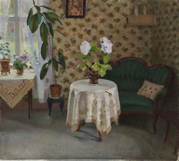 EERO JARNEFELT Interior (1918)