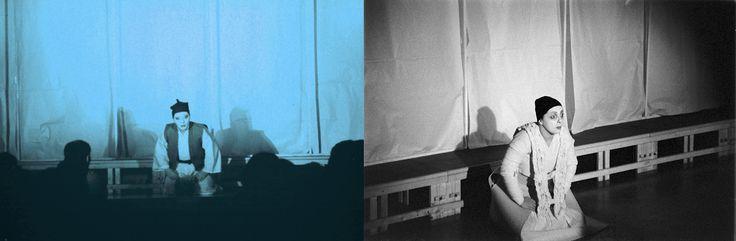 IL BOSCAIOLO -                                                   bn: Scene, costumi e luci di Renato Morselli. col: Costumi di Sakura Fujita, scene e nuove luci di Renato Morselli
