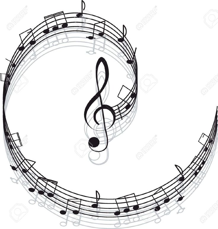 Clipart note musicali bianco e nero cerca con google - Note musicali da colorare pagina da colorare ...