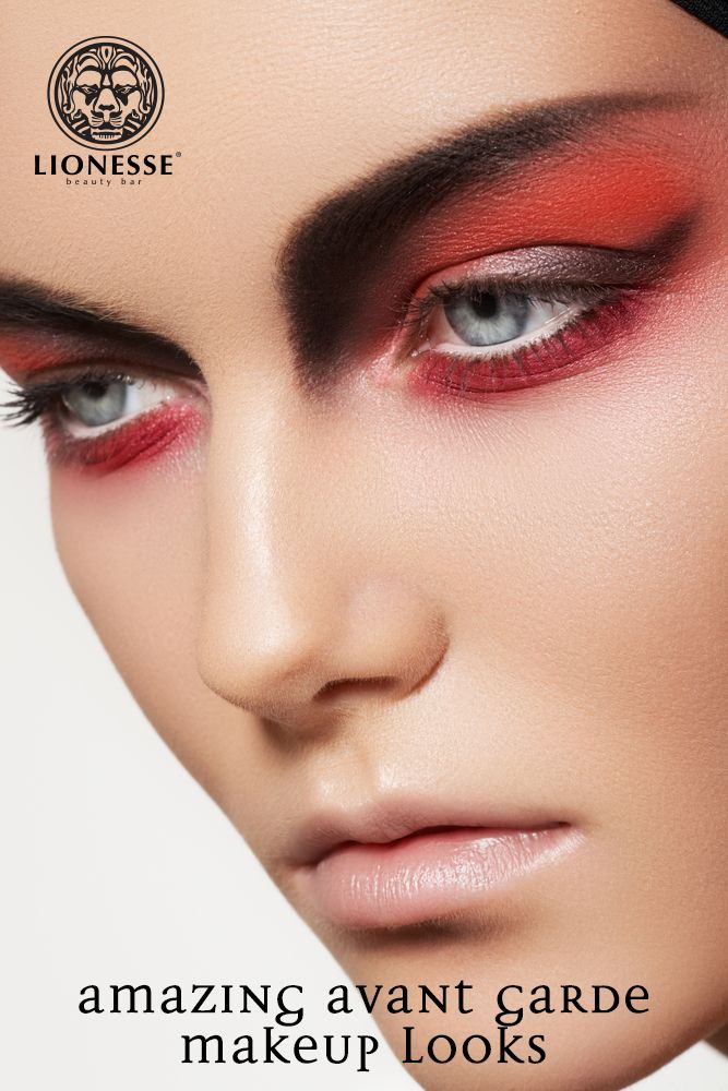 Amazing Avant Garde Makeup Looks From Lionesse Pin To Win - Avant-garde-makeup-themes