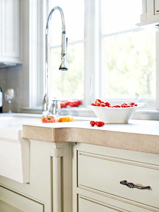 Concrete Countertop Guide Different Types Of Kitchen: types of countertops material