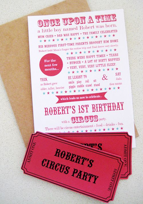 122 best Circus Party images on Pinterest Circus party, Carnival - circus party invitation