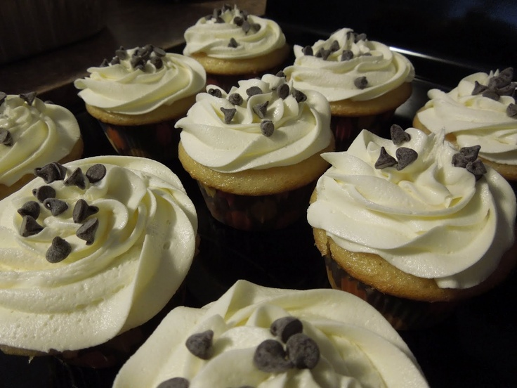 Chocolate Chunk Cookie Dough Cupcakes ♥ | Cupcakes and other yummy ...