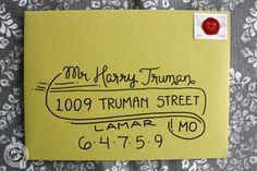 fun way to address envelopes - Google Search