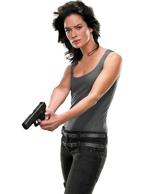 Lena Headey 'Terminator' star.....Uploaded By  www.1stand2ndtimearound.etsy.com