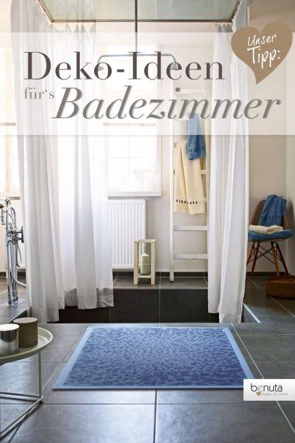 Wohlfühloase Bad: So dekorieren Sie Ihr Badezimmer #benuta #teppich #diy#interior #rug