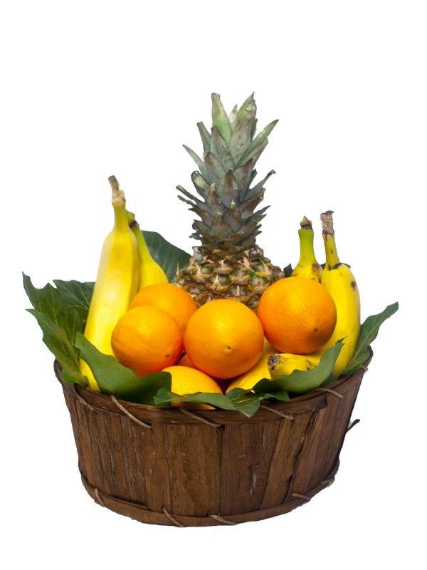 Cos cu portocale si banane Inca o portie de vitamine pentru cine doreste