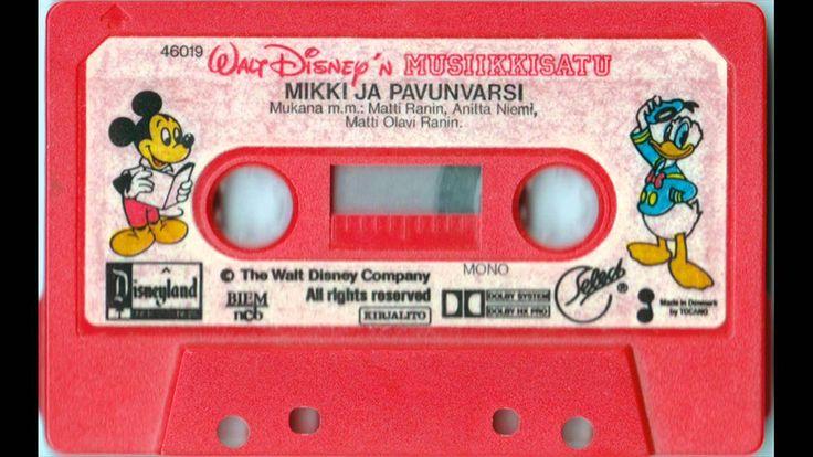 Walt Disneyn musiikkisatu - Mikki ja pavunvarsi (Fun and Fancy Free) (1986) Performers: Matti Ranin, Anitta Niemi, Matti Olavi Ranin Producer: Finn-Kasper, M...
