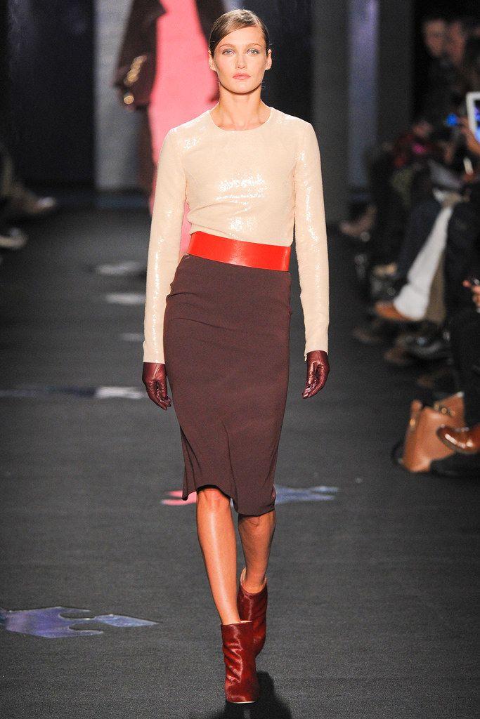 Diane von Furstenberg Fall 2012 Ready-to-Wear Fashion Show - Karmen Pedaru