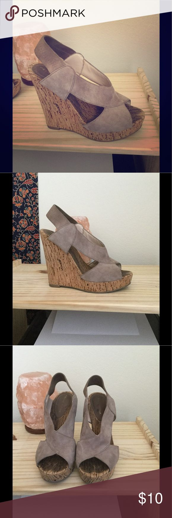 Seychelles Wedges Great mauve color that goes with any things! Very comfortable. Gently worn with some show of wear but still in great shape! Seychelles Shoes Wedges