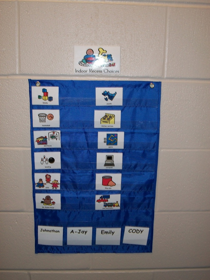 Miss Allison's Class: Classroom Organization - choice board for breaks