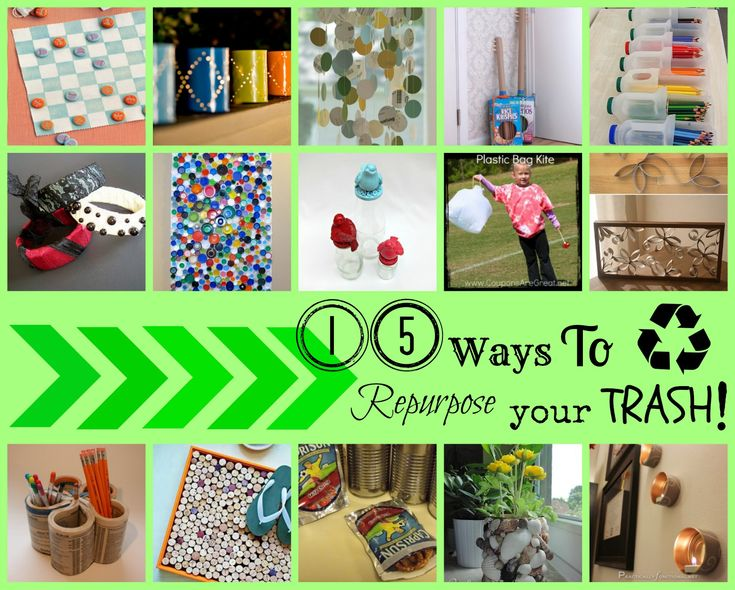 77 best reduce reuse recycle images on pinterest for Reduce reuse recycle crafts