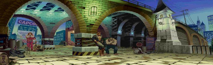 Street Fighter Alpha 3, Guy stage.