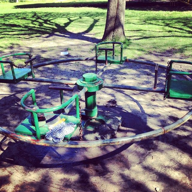 Playground restoration project: Before pic.