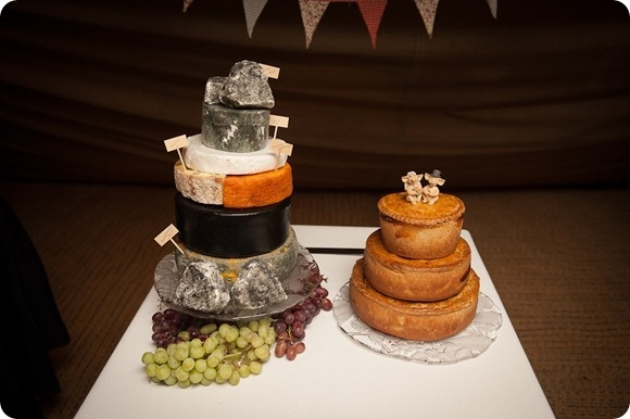Wedding Cheese Cake by Chris Milner Photography