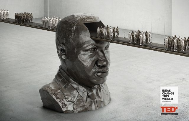 Martin Luther King TEDx: Ideas change this world Agency: Ogilvy & Mather, Argentina