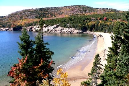 Seawall campground, Acadia National Park in Maine.  Our favorite place to camp.