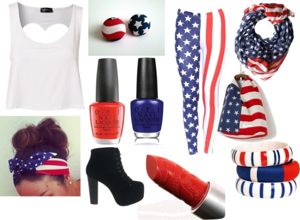 """flag"" by nicole-beal on Polyvore"