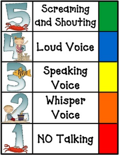 Mostly, the elementary students are noisy and hard to control. This noise level chart helps me control my kids.
