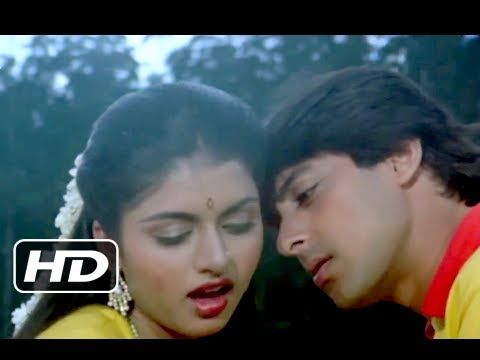 "Here comes the most romantic song of $SalmanKhan & Bhagyshree's "" Dil Deewana"" from Maine Pyar Kiya."