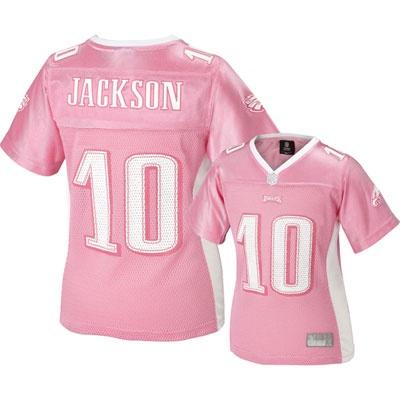 New Eagles Women Jerseys Nfl Jackson 10 2012 Desean Philadelphia Pink