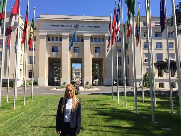 Tintori pide libertad de presos políticos ante Consejo de Derechos Humanos de la ONU