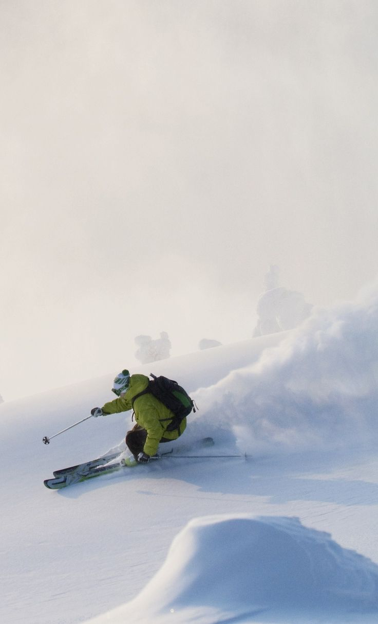 #Skiing in Finland | The perfect family destination for winter holidays.  Downhill Skiing in Pyhä - photo © MEK Finnish Tourist Board
