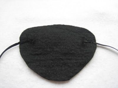 Grace's Favours - Craft Adventures: How to Make a Felt DIY Pirate Eye Patch Tutorial