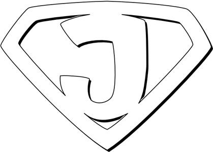 jesus coloring pages20jpg 419300 - Coloring Pages Superheroes Symbols