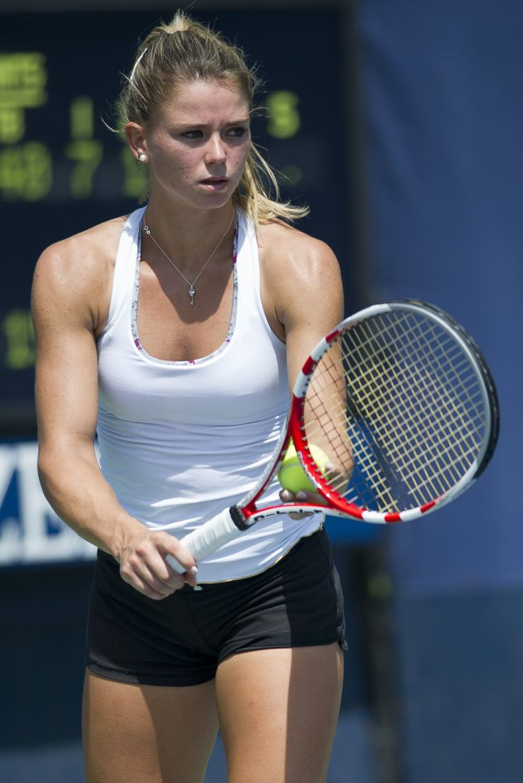 Camila Giorgi at US Open 2012 #WTA