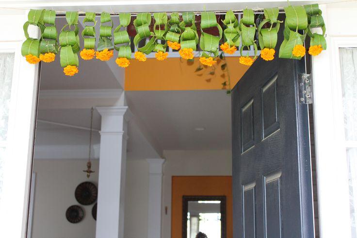Mango leaves Thoranam