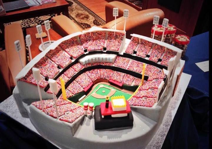 Cincinnati Reds Baseball Stadium CAKE Cincinnati Reds ...