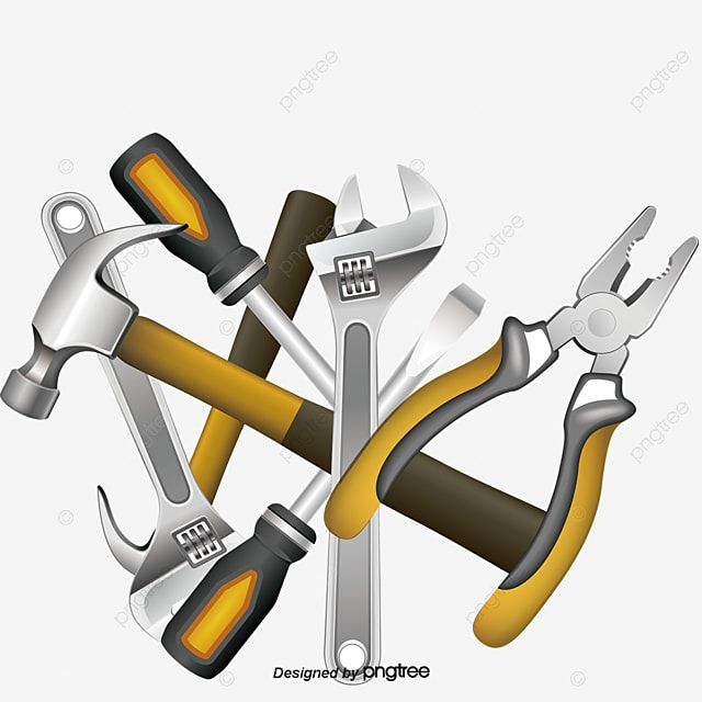 Cartoon Hardware Tools Tools Clipart Cartoon Vector Tools Vector Png Transparent Clipart Image And Psd File For Free Download Cartoons Vector Tools Construction Tools