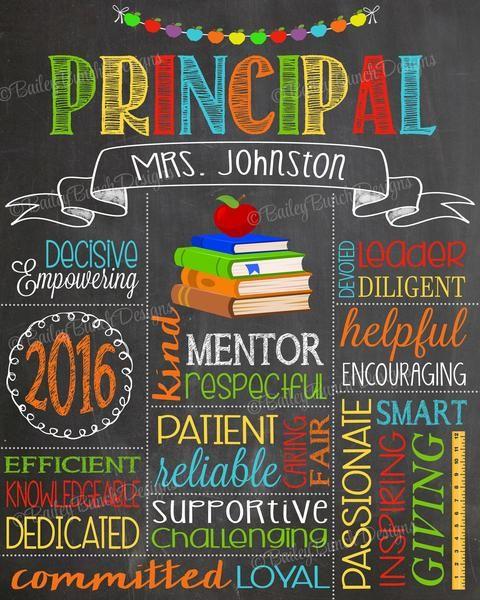 Principal Appreciation Gift, PRINCIPAL0520