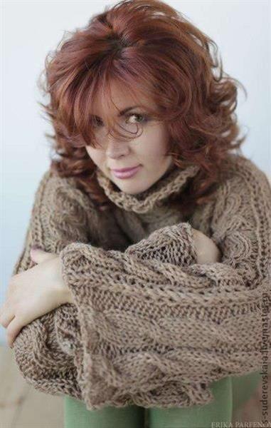 Женские свитера из верблюжьей шерсти