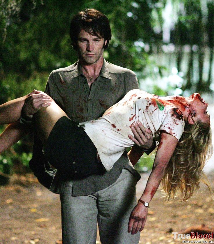 Bill saving Sookie one of the twenty times she almost died...le sigh...but still I'm #TrueToTheEnd