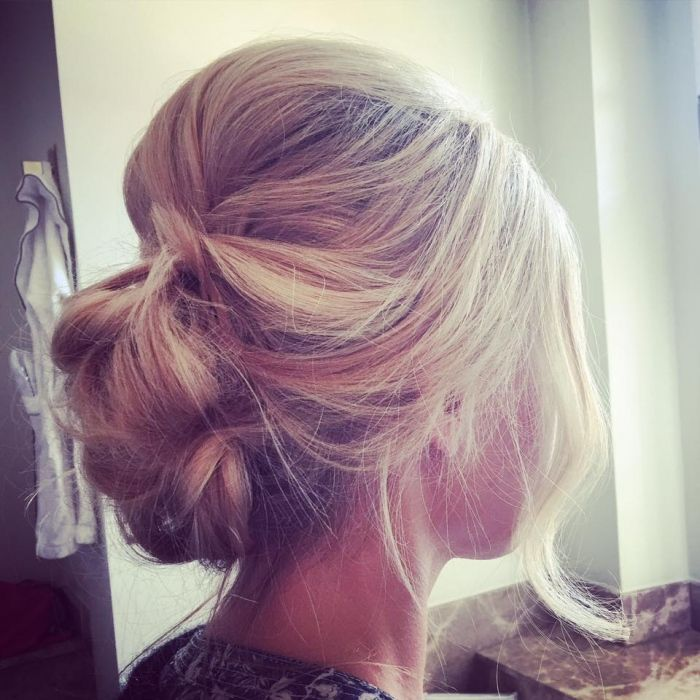 french chignon hairstyle