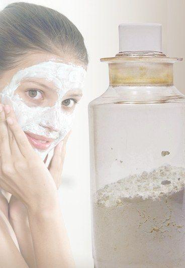 Gesichtsmaske mit Kaolin