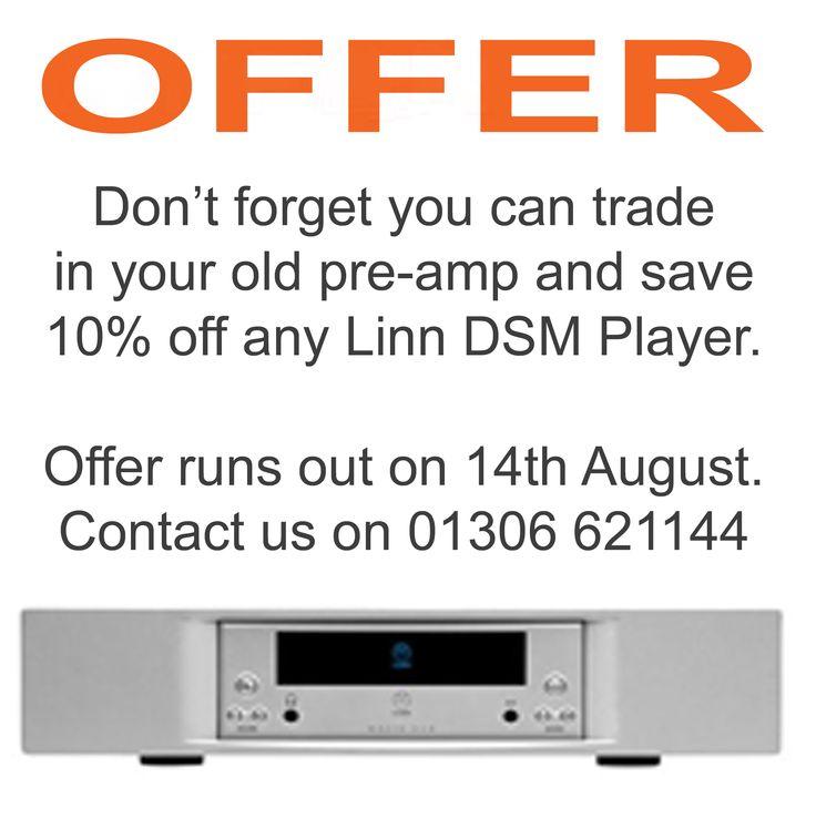Contact us today #linn #hifi http://sevenintegration.co.uk/offer-trade-pre-amplifier-10-linn-dsm-player/