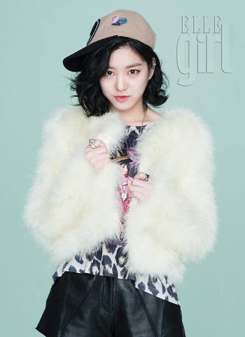 #Elle #Girl #Korea December 2012 issue