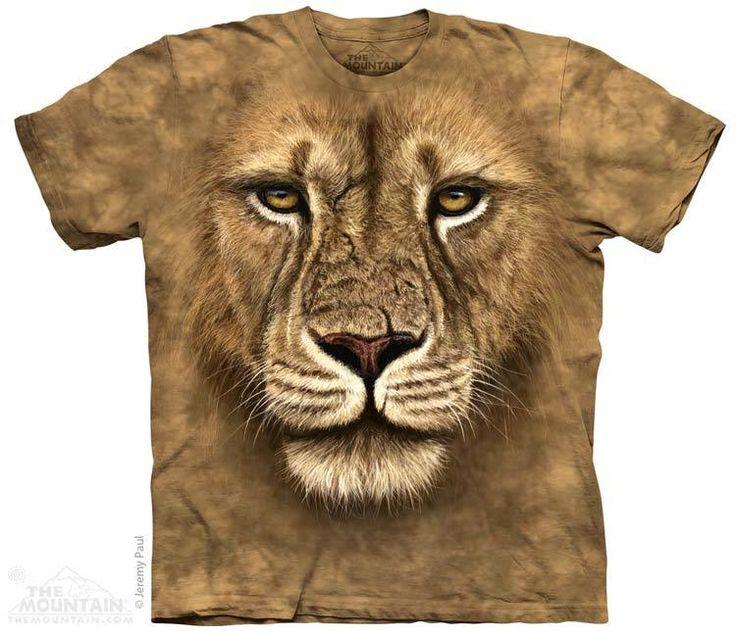 The Mountain - Lion Warrior T-Shirt, $22.00 (http://www.themountain.com/lion-warrior-t-shirt/)