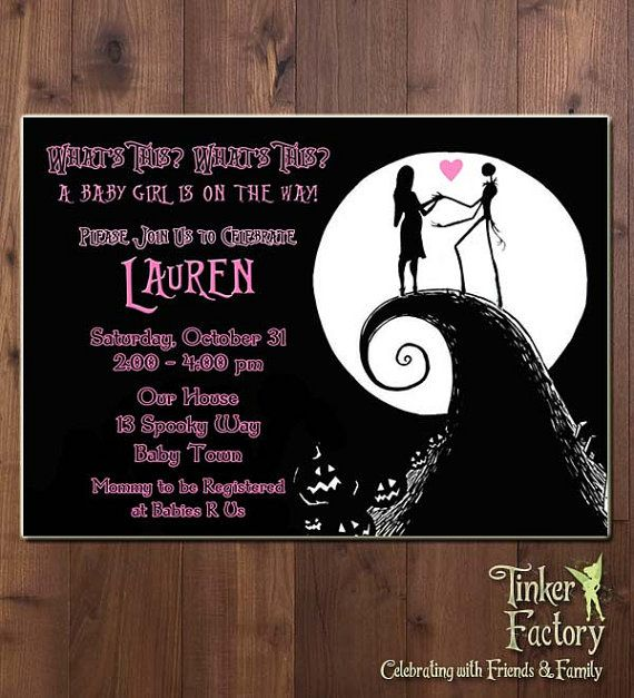 10 best nightmare before christmas baby shower images on pinterest nightmare before christmas baby shower party invitation digital file printable sally jack skellington baby shower invite it is a boy filmwisefo