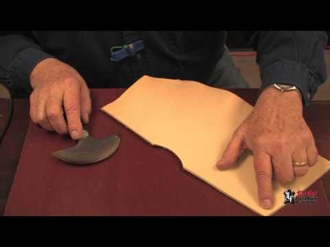 An introduction to the use and care of a Round Knife! Whether a beginner or a master, you're sure to expand your leathercraft knowledge and skills by watching our instructional videos.