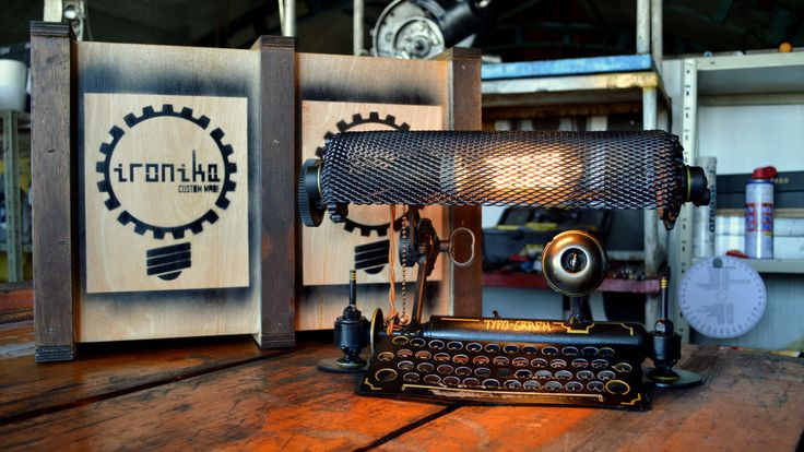 Typo #steampunk lamp  #Lucruri #DePurtat #Afara